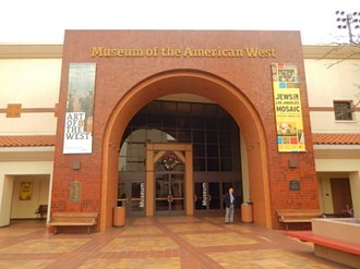 Autry Museum of the American West - Entrance to museum section
