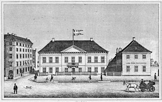 Royal Copenhagen Shooting Society - The Society's mansion outside the Western City Gate