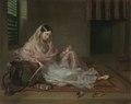 Muslim Lady Reclining.tif