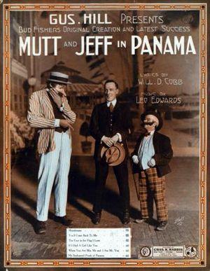 Columbia Amusement Company - Image: Mutt and Jeff in Panama 1913