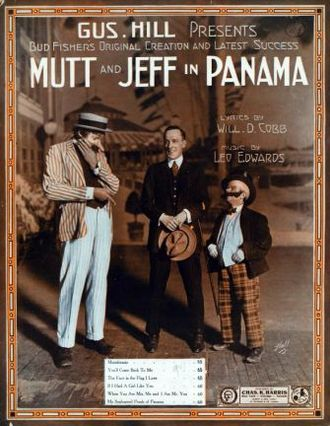 Columbia Amusement Company - Image: Mutt and Jeff in Panama 1913