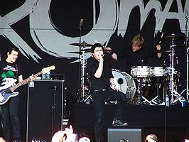 My Chemical Romance live in Australië (Big Day Out festival) Februari 2007