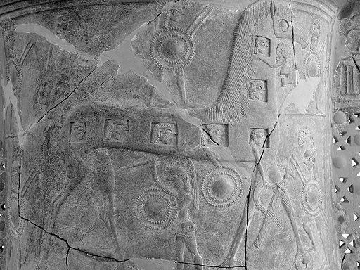 Mykonos vase monochrome