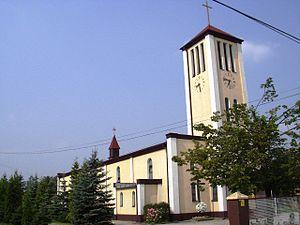 Morgi, Mysłowice - Saint Hyacinth church (built in 1946)