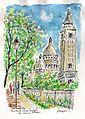 N°1096-Montmartre le Sacré choeur Par Michel RIGEL.jpg