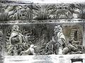 Nîmes (30) Cathédrale Frise 11.JPG