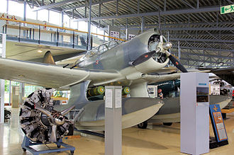 Northrop N-3PB - The restored N-3PB (c/n 320) displayed at the Norwegian Armed Forces Aircraft Collection