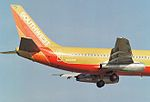 "N68SW - 68 Boeing 737-2H4-Adv (cn 22357-725) ""The Winning Spirit"" Southwest Airlines. (6767732887).jpg"