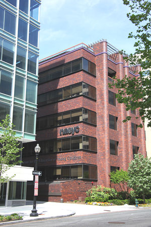 National Association for the Education of Young Children - The NAEYC building at 1313 L Street NW in Washington, D.C.