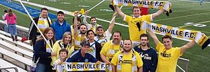 Nashville FC - Supporters of Nashville