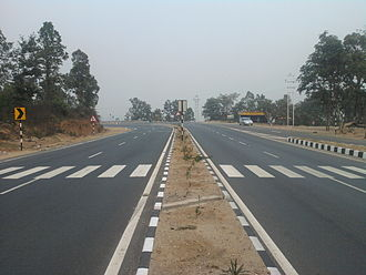 Ramgarh Cantonment - National Highway 33 near Ramgarh Cant