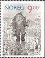 NK1468 norwegian stamp kittelsen stortrollet.jpg
