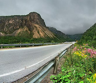 Corner Brook - Along the Trans-Canada Highway