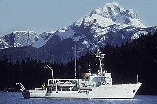 NOAAS <i>Davidson</i> (S 331) McArthur-class hydrographic survey ship