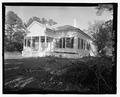 NORTH EAST - Carter-Evans House, 603 South Harris Street, Sandersville, Washington County, GA HABS GA-2365-2.tif
