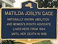 NYS Historic Markers MatildaJoslynGage.jpg
