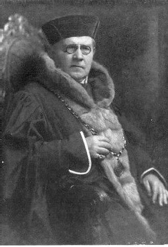 1920 Czechoslovak presidential election - Image: Naegele noch besser