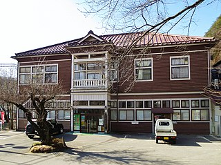 Naganohara Town in Kantō, Japan