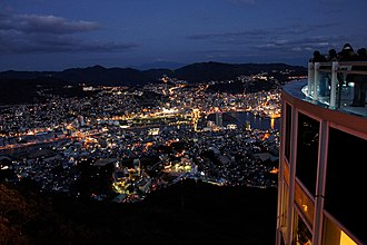 Nagasaki Prefecture - Night view of Nagasaki City