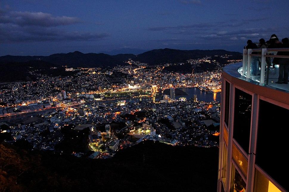 Nagasaki City view from Mt Inasa04s
