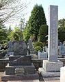 Nakahama Manjirō in the Zōshigaya Cemetery.JPG