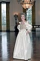 Nancy Reagan in The East Room During a Photo Session with Harper's Bazaar Magazine C10929-9.jpg