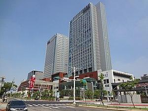 Nangang Station - Nangang Station Building