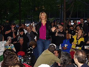 Naomi Klein - Klein speaking at Occupy Wall Street in 2011