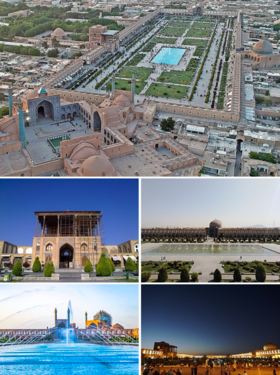 Naqsh-e Jahan Square collage.png