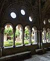Narbonne-Abbaye de Fontfroide-Arc du cloître-20140608.jpg
