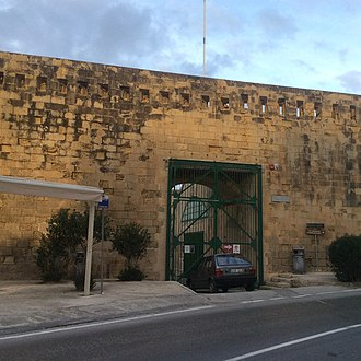 National War Museum (Malta) - National War Museum main entrance