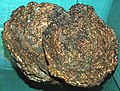 Native copper-coated cobbles (Mesoproterozoic; Calumet and Hecla Mine, Calumet, Michigan, USA) 2 (17106255247).jpg