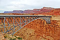 Navajo Bridge over Marble Canyon, AZ 9-15 (21791439235).jpg