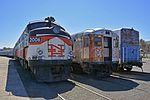 New Haven 2006 and 47 at Danbury Railway Museum, April 2015.jpg