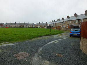 Ingleton Coalfield - Miners'houses in the New Village