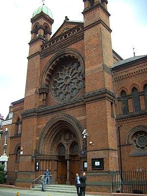 Edward Salomons - New West End Synagogue, Bayswater, London