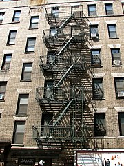 Great A Friend And I Were Recently Pondering What Building Has The Tallest  Exterior Metal Fire Escape, Of The Type Shown Below. He Nominated Book  Tower In Detroit ...