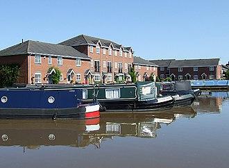 Market Drayton - New canalside development