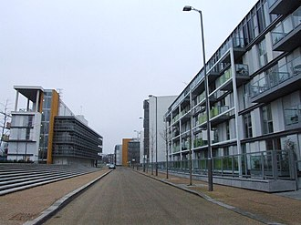 Hornsey - 21st century housing in Chadwell Lane, Hornsey