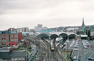 Transport in Tyne and Wear - Newcastle railway station