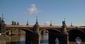 Newport Bridge, Newport - Image: Newport Town Bridge