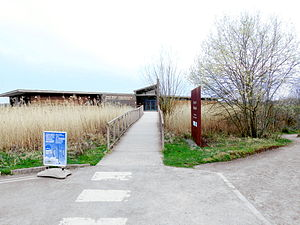 Newport Wetlands - Newport Wetlands RSPB Reserve visitor centre entrance