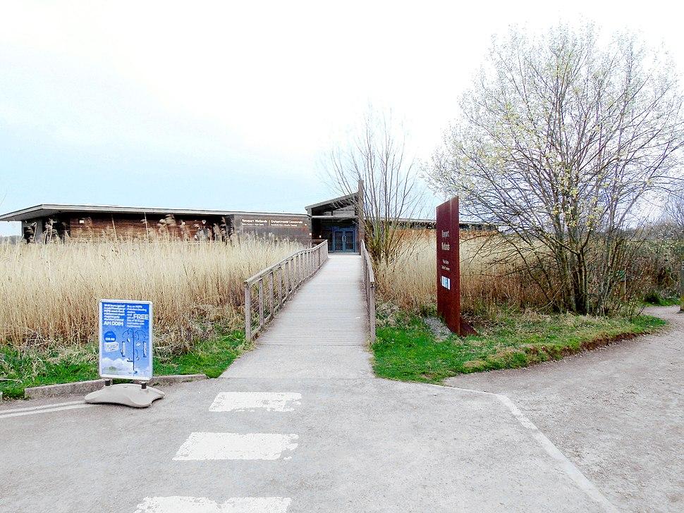 Newport Wetlands RSPB Reserve Visitor Centre Entrance