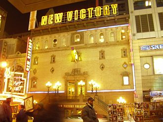 New Victory Theater - The New Victory Theater in 2006