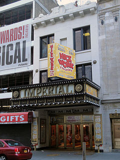 Imperial Theatre Broadway theatre in New York City