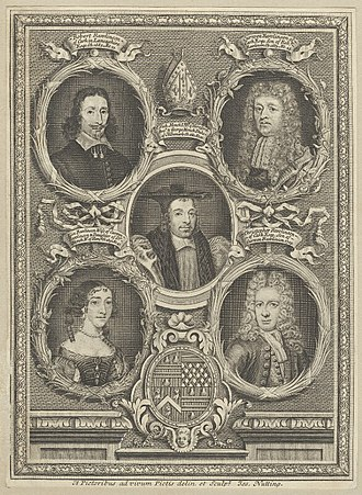 Christopher Rawlinson (antiquary) - Image: Nicholas Monck And The Rawlinson Family By Joseph Nutting NPG London