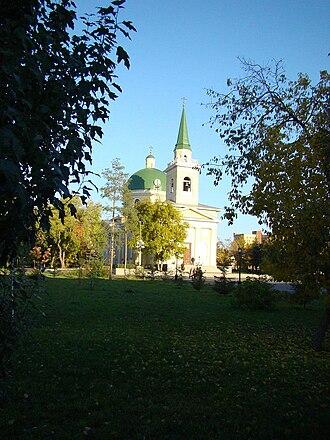 Siberian Cossacks - St. Nicholas Cossack Cathedral, the main church of the Siberian Cossack Host