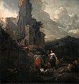 Nicolaes Berchem - Mountain Scene CW RCM TRURI 1939 220.jpg