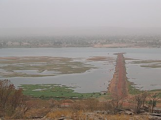 Niger River - The Niger at Koulikoro, Mali.