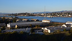 View of Vallejo from Mare Island